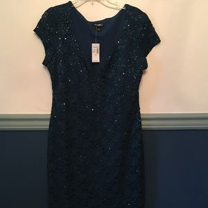 Dress barn cocktail dress with tags!